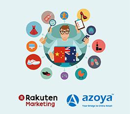 Rakuten Marketing Introduces its Advertisers to China with Azoya