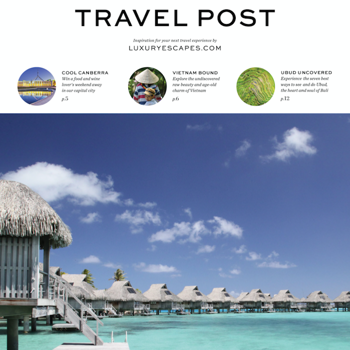 Luxury Escapes Adds Print to Content Marketing Strategy