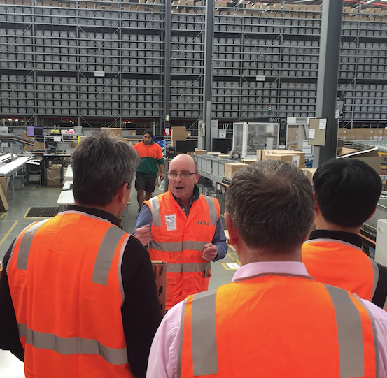 NORA Takes a Peek into Toll's Melbourne Distribution Centre