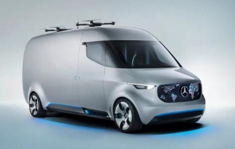 Mercedes-Benz Unveils Futuristic Delivery Vans