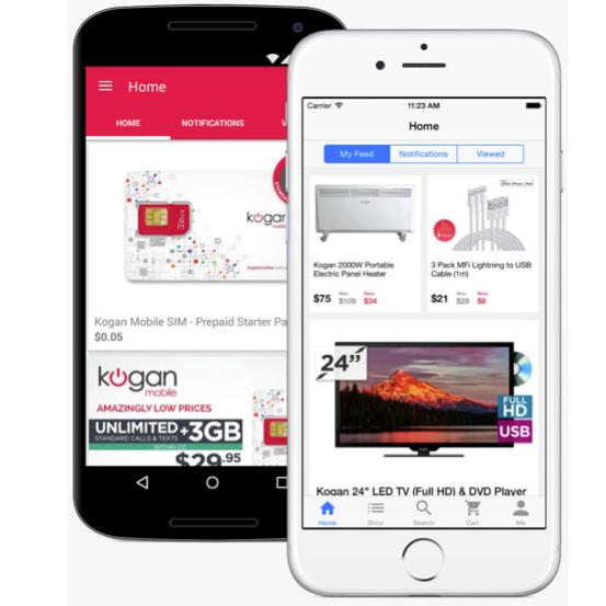 Kogan.com Tops List for Best Mobile Site in Australia