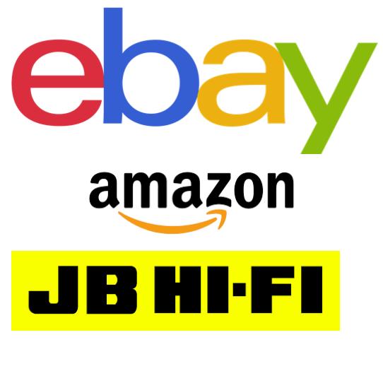 eBay, Amazon and JB Hi-Fi Most Popular Online Stores