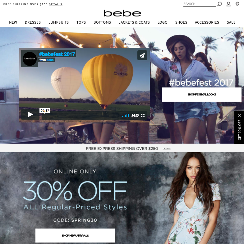 Bebe to Close All Physical Stores