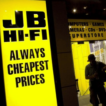 JB Hi-Fi Joins Woolies and Wesfarmers on Global Stage