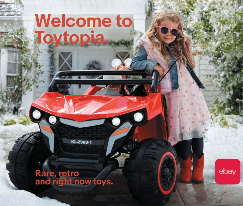 eBay Looks to Out-Toy Amazon and Target with New Catalogue