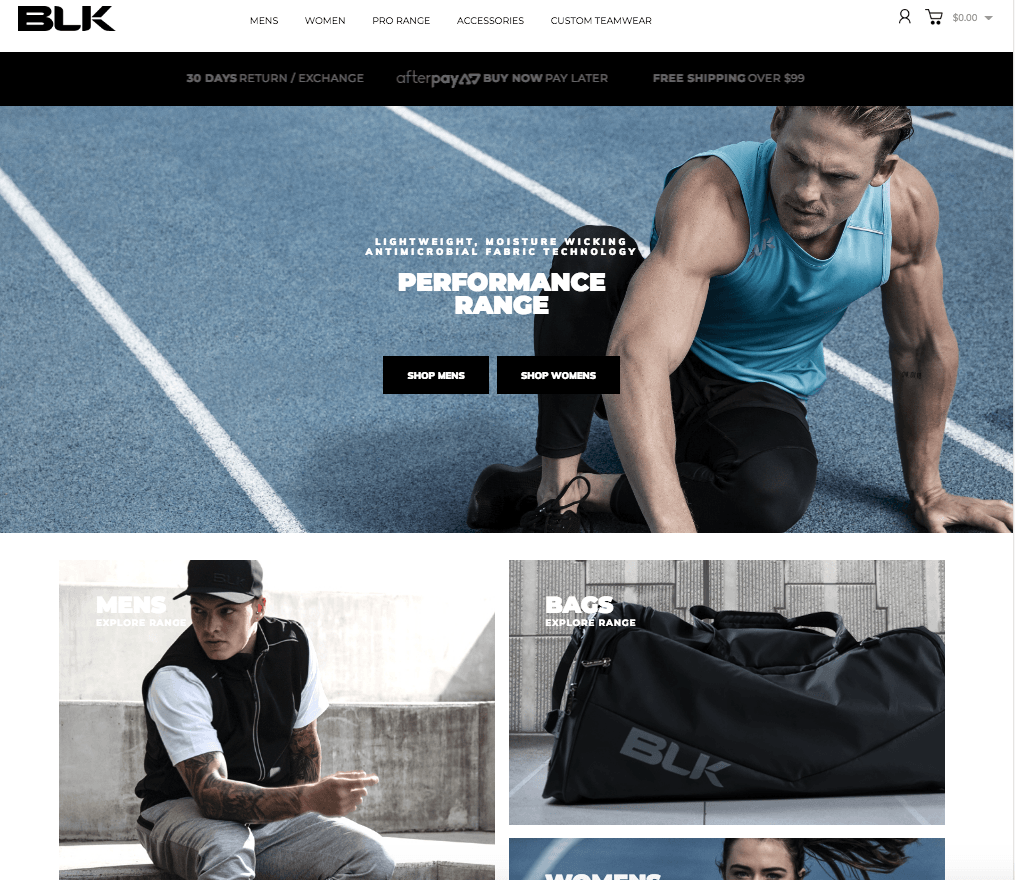 BLK Enters Consumer Sports Apparel Market