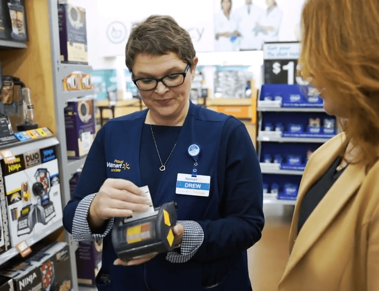 Walmart's New Way to Shop In-Store, Purchase Online