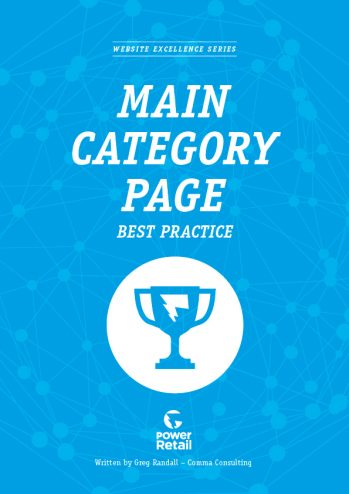 Main Category Page Best Practice