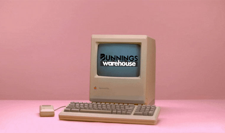 E-Commerce Time Machine | Bunnings Warehouse