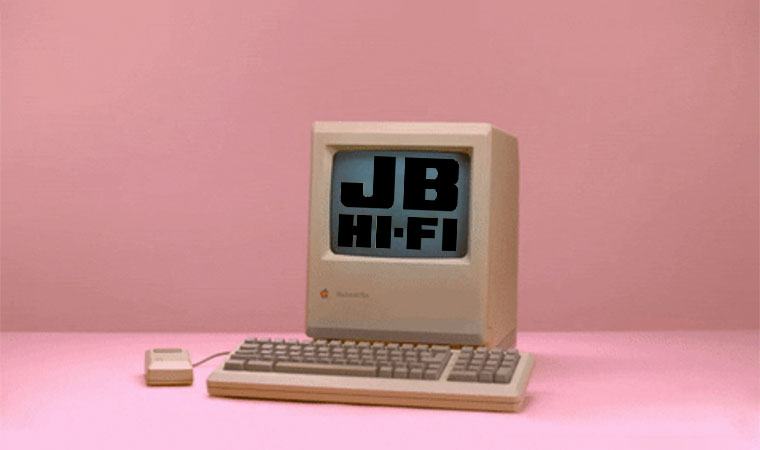 E-Commerce Time Machine: JB Hi-Fi