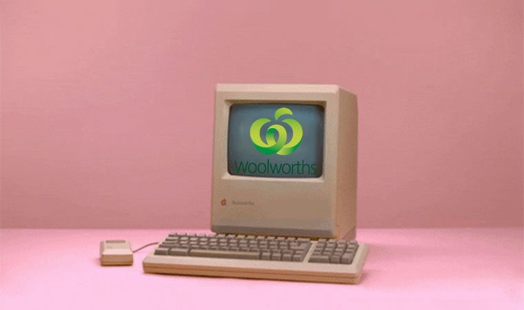 E-Commerce Time Machine: Woolworths