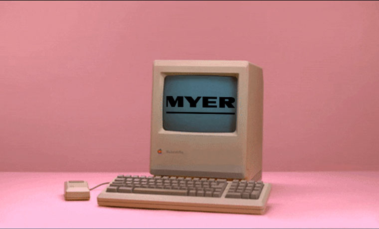E-Commerce Time Machine: MYER