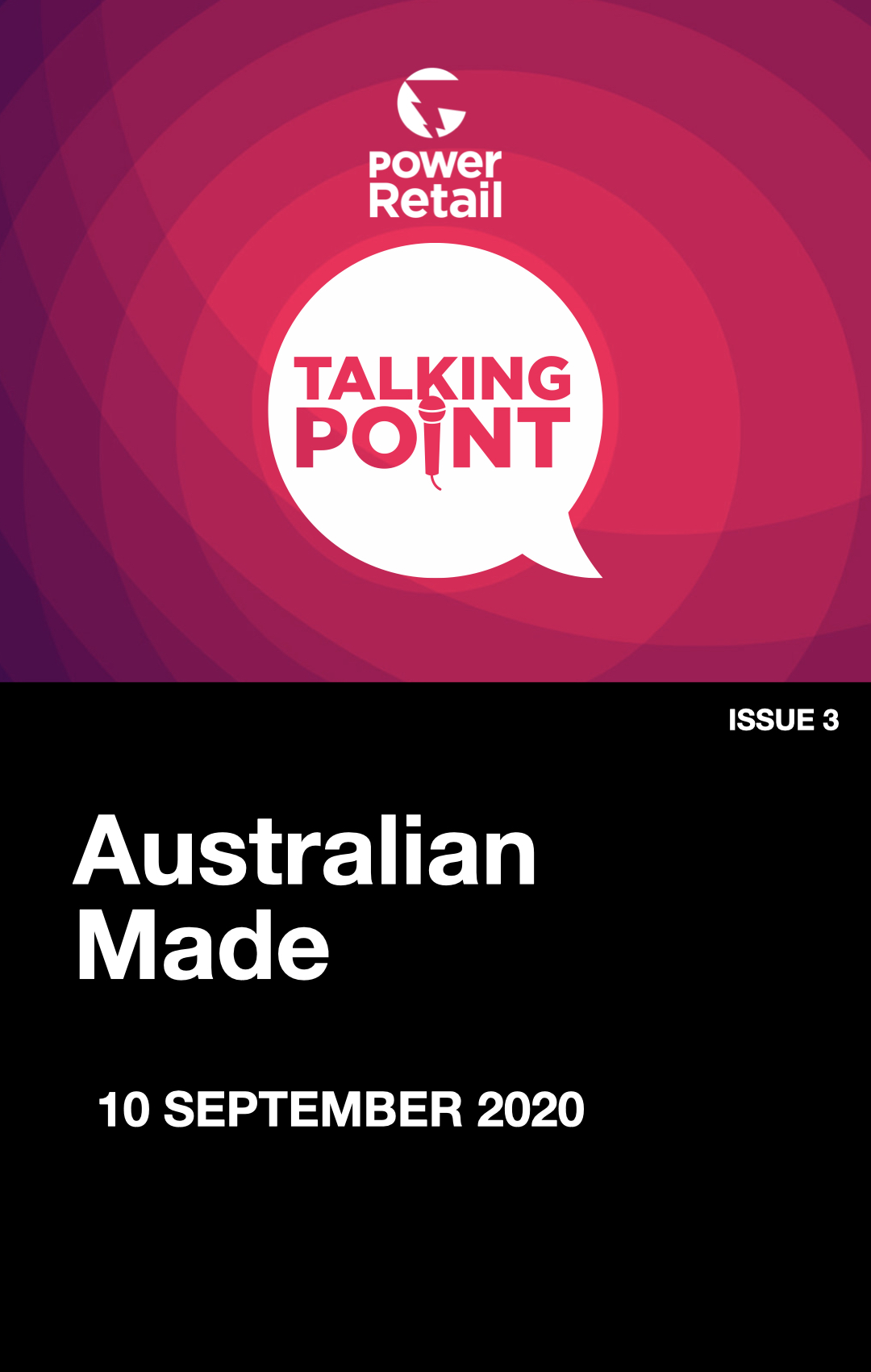 Talking Point Report #3