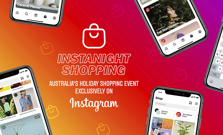 Instagram Australia Debuts First In-App Shopping Event