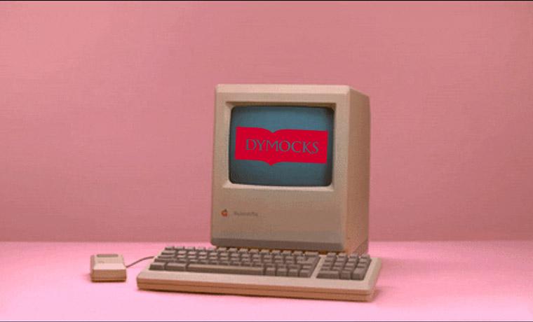 E-Commerce Time Machine: Dymocks