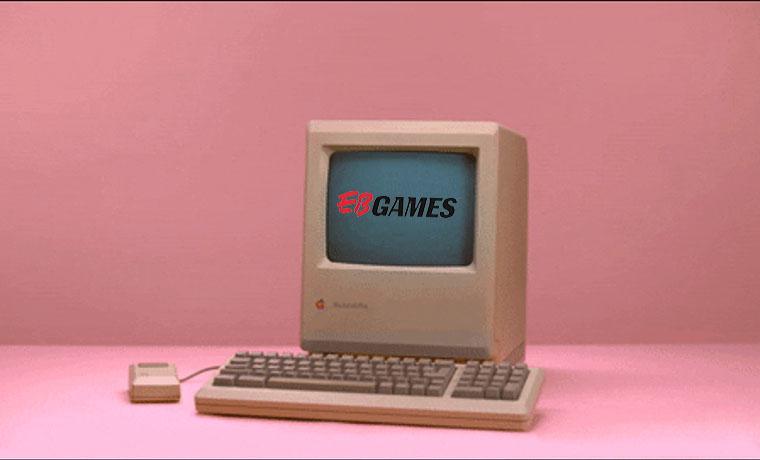 E-Commerce Time Machine: EB Games