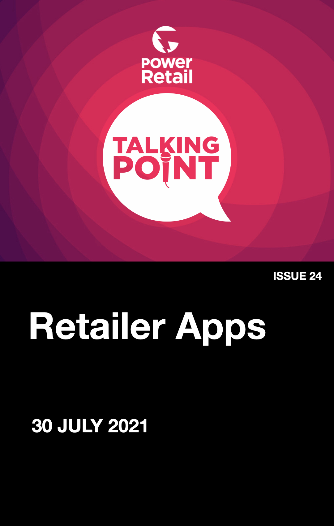 Talking Point Report #24