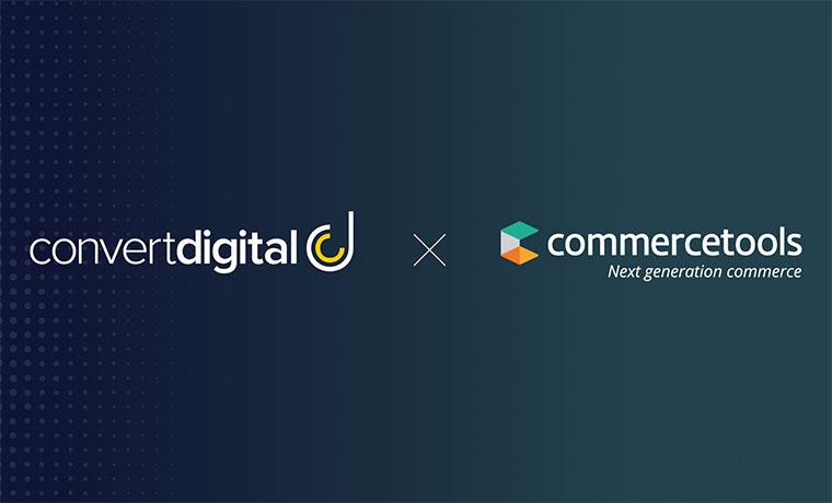 Convert Digital Announces Strategic Partnership with commercetools